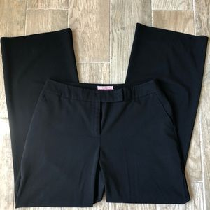 Bandolino Black Flare Dress Pants